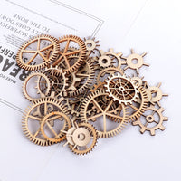 Wooden Craft Gears Steampunk decor
