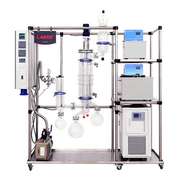 Lab1st hemp oil short path molecular distillation system