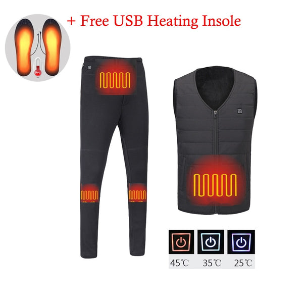 Mens Winter Heated Vest