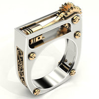 Vintage Steam Punk Jewelry ring