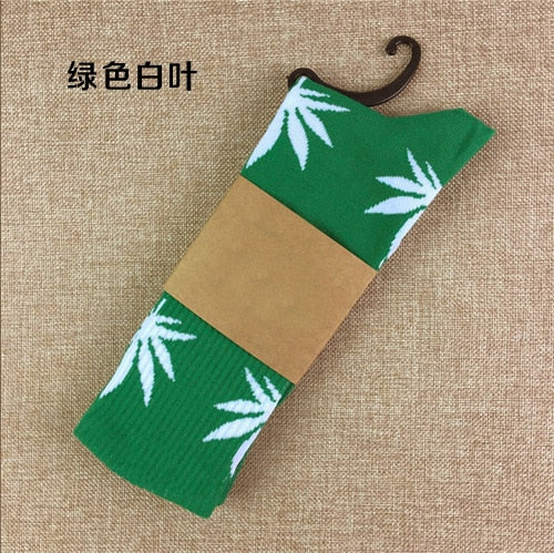 Maple Leaf Socks
