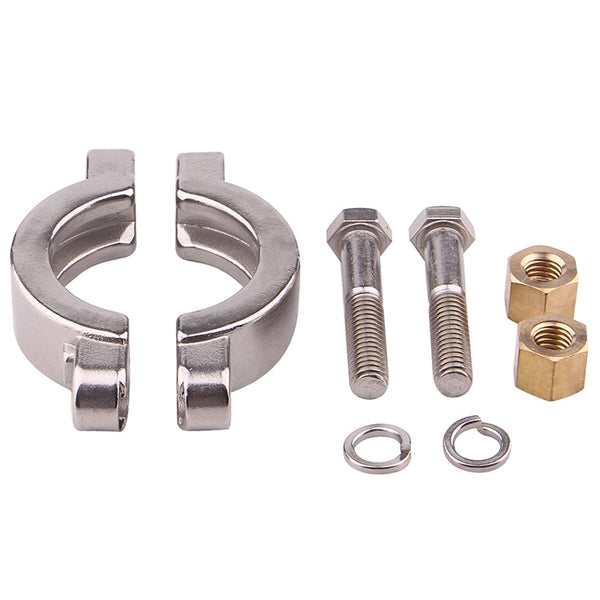 2'' Sanitary Tri Clover High Pressure Bolted Tri Clamp Clover Stainless Steel 304