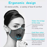 Face Mask Filter with Activated Carbon Breathing Filters For Adults and Children