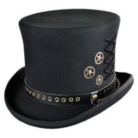 Steampunk  Fedora Top Hat