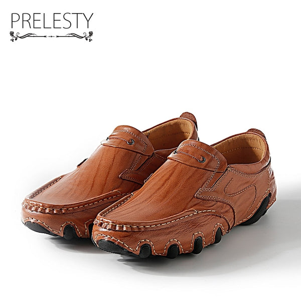 Genuine Handmade Leather Slip on Loafers