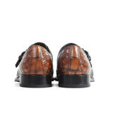 Crocodile Leather Shoes Classic  Handmade Leather
