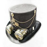 Steam Punk Gothic Top Hat