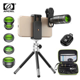 16x telephoto lens with tripod+ for all phones