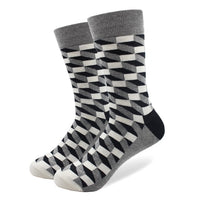 Men Crew cotton Socks Multi Pattern
