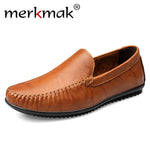 Handmade Leather Mens Loafers