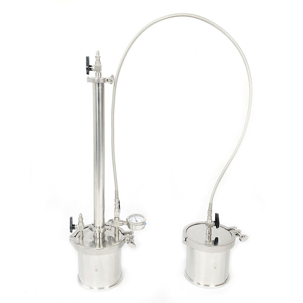 "135g  BHO Extractor kit, Closed Loop System. 1.5"" x 20"" spool."