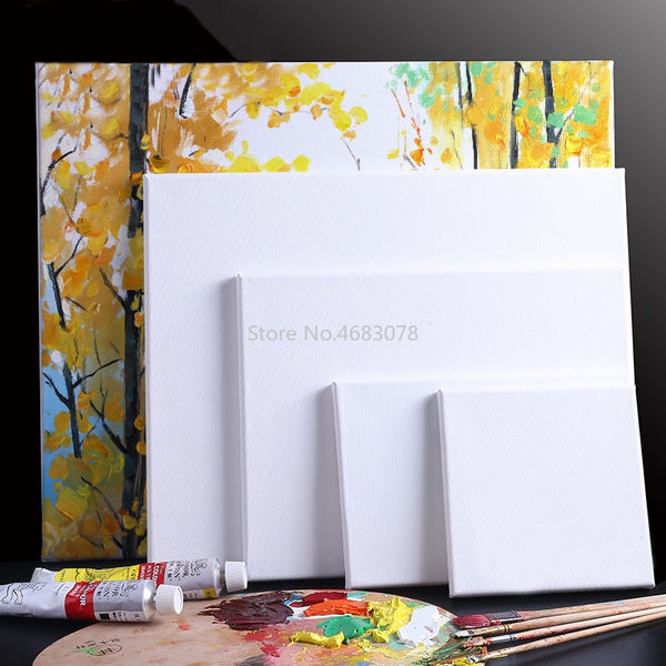 White Blank Square Canvas Frames