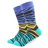 Cotton Colored Multi Pattern Skateboard Sock