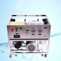 5 stages Reverse Osmosis Seawater Desalination system for Boat 1000LPD