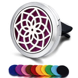 Clip On Car Air Vent Essential Oil Diffuser