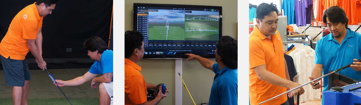 Honolulu Golf Club Fitting and Repair Services