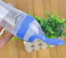 Load image into Gallery viewer, Baby Silicone Bottle Spoon Feeder