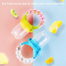 Load image into Gallery viewer, Baby Fresh Fruit Pacifier (Set of 3)