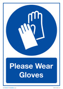 Please Wear Gloves