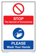 Stop The Spread of Coronavirus x5