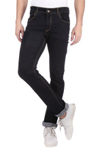 Load image into Gallery viewer, Nebraska Men's Black Slim Fit Stretchable Jeans