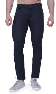 Nebraska Men's Black Slim Fit Stretchable Jeans