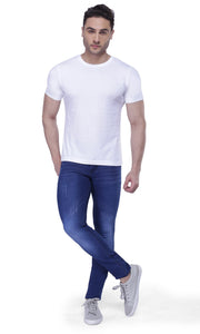 Nebraska Slim Men Blue Jeans(pack of 2)