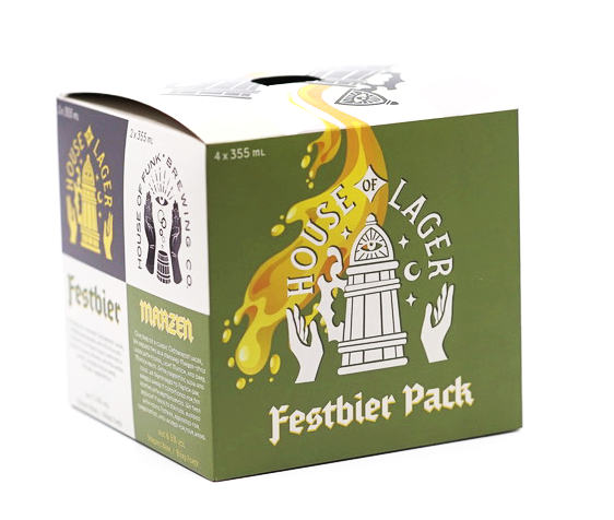 FESTBIER PACK // 4-pack - 355ml cans