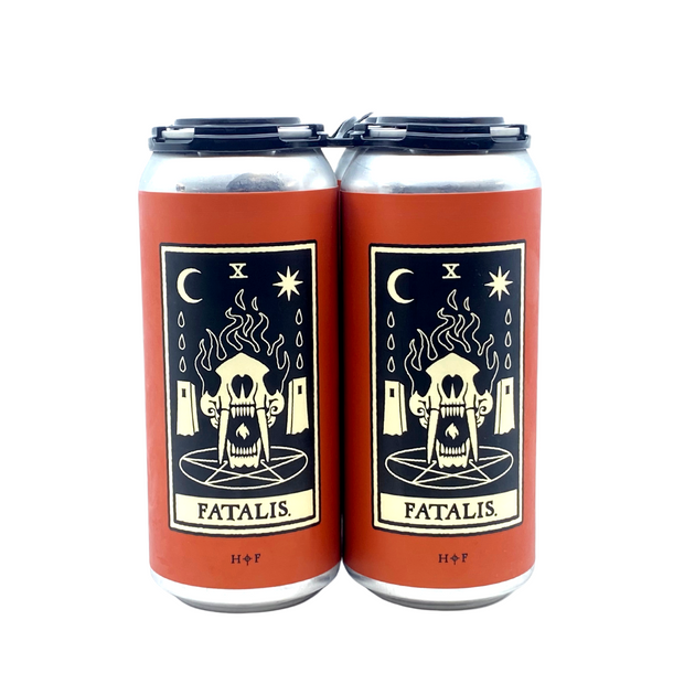 FATALIS // ginger & turmeric sour (4-pack) - 473ml cans