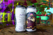 JUNO // Dry Hopped Sour Ale with blood orange + guava + vanilla (4-pack) - 473ml cans