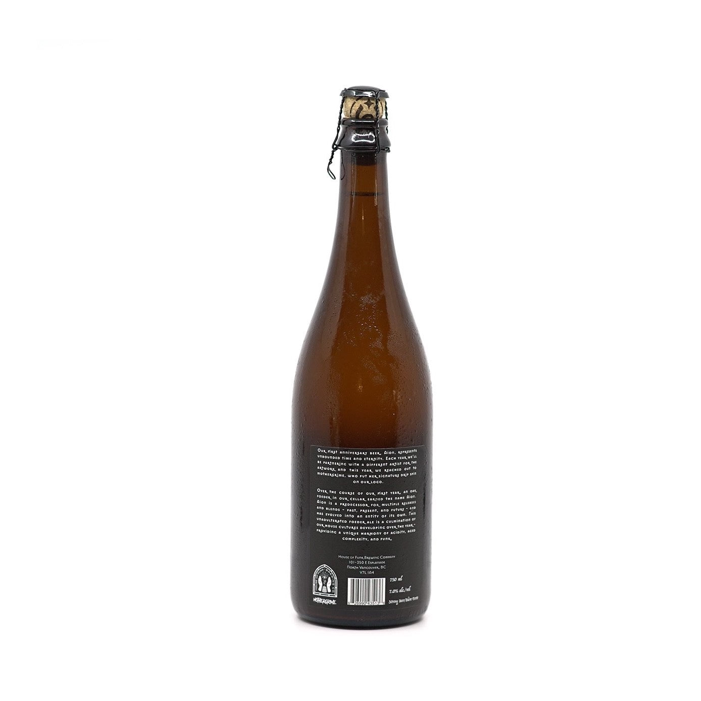 AION // Farmhouse Ale Aged in Oak Foeder (7.0%) - 750ml