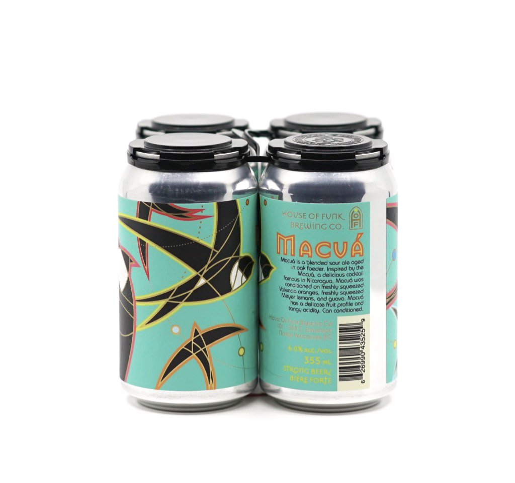MACUA // Sour Ale 4-pack - 355ml cans