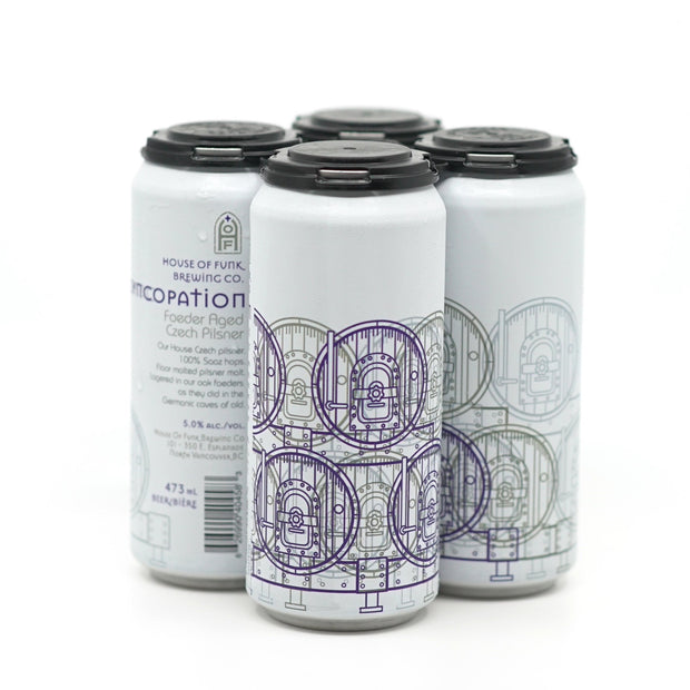SYNCOPATION // Czech Pilsner (4-pack) - 473ml cans