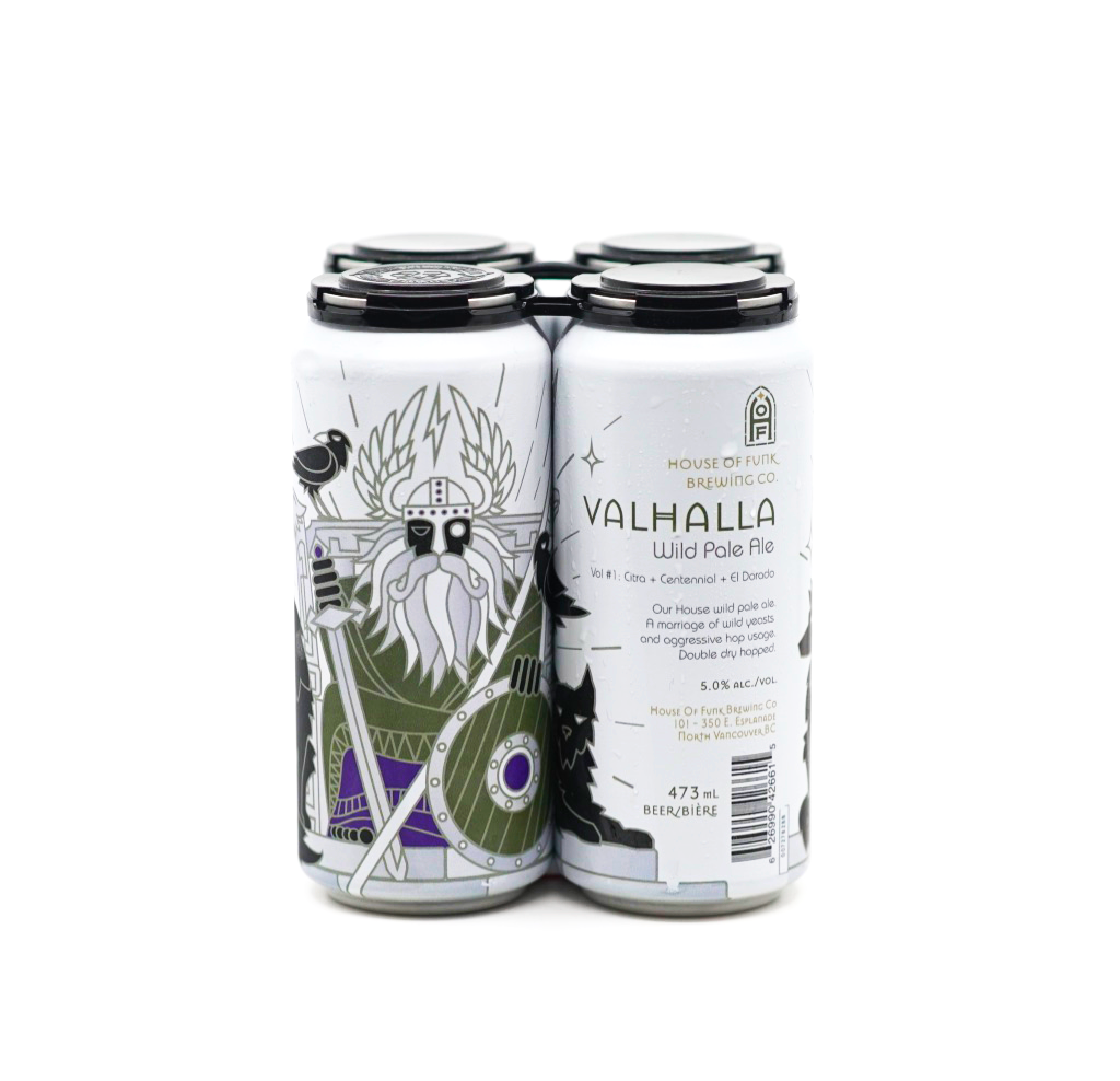 VALHALLA // Wild Pale Ale (4-pack) - 473ml cans