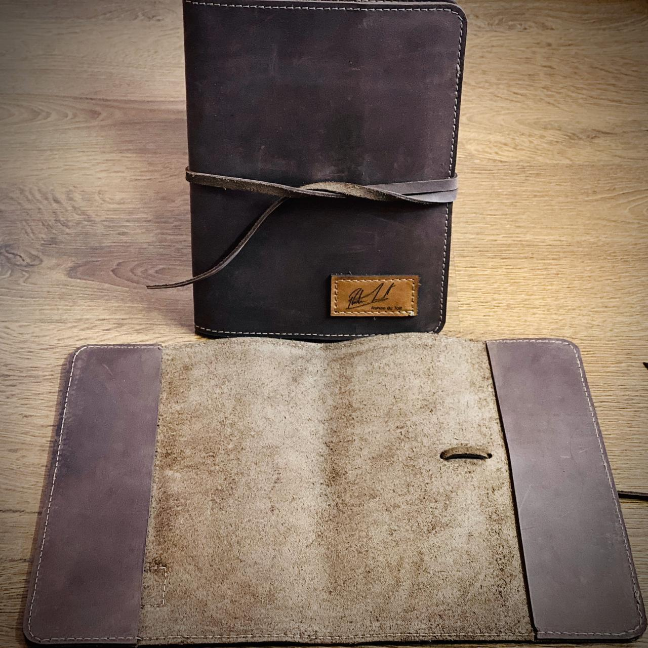 Dark Leather Notebook