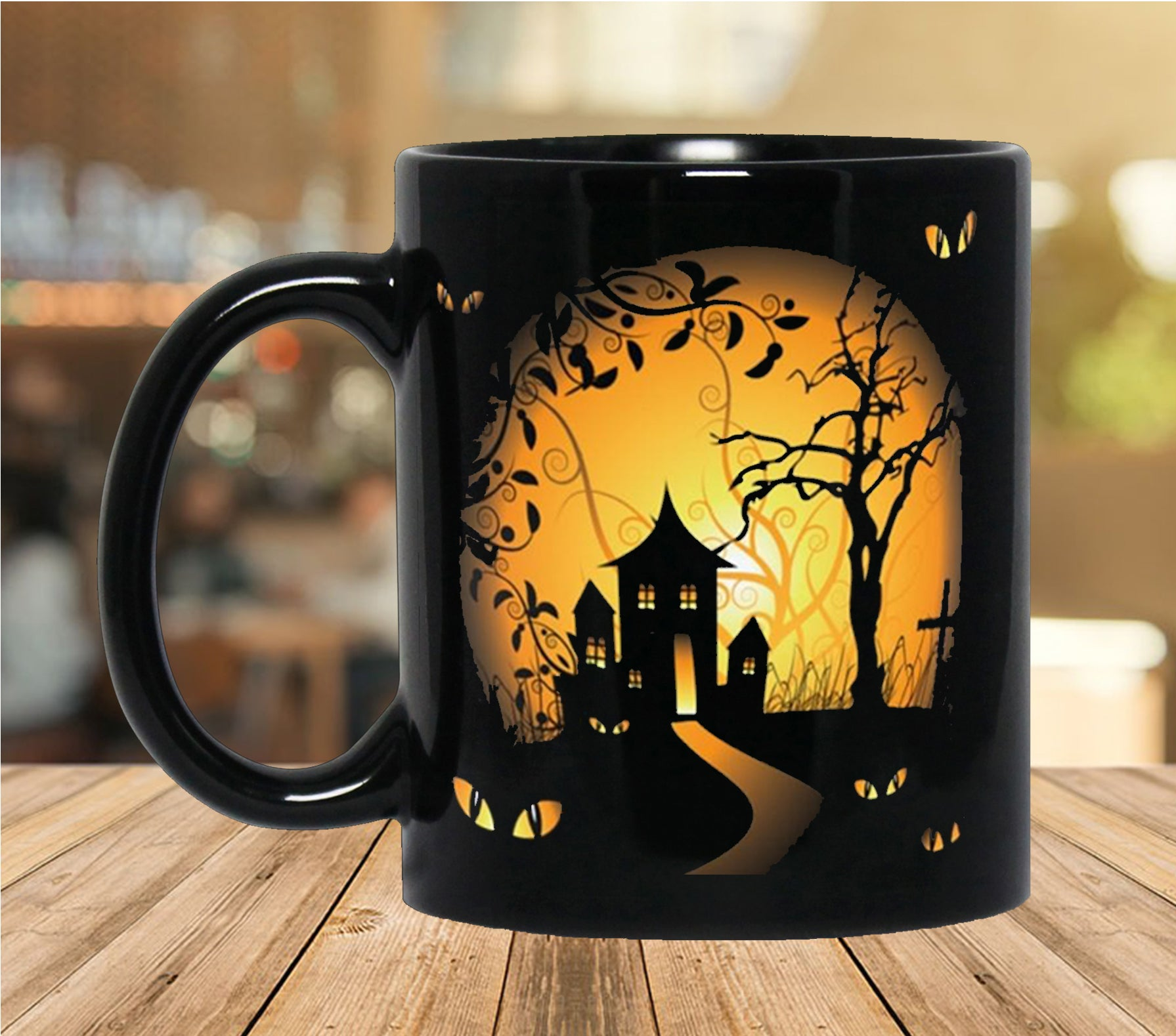 Cute Halloween Coffee Mug Teecovi Com
