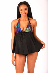 Nursing Swimwear, Electric Jungle Maternity Bikini - Bikini Mama's - 3