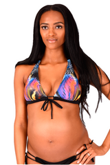 Maternity to Nursing & Beyond Swimwear Aquarius Bikini Top - Bikini Mama's - 2