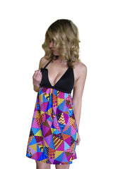Circus Circus Maternity Nursing Dress - Bikini Mama's - 1