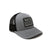 Grey 1Mission Flag Truckers Hat