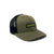 Olive 1Mission Truckers Hat