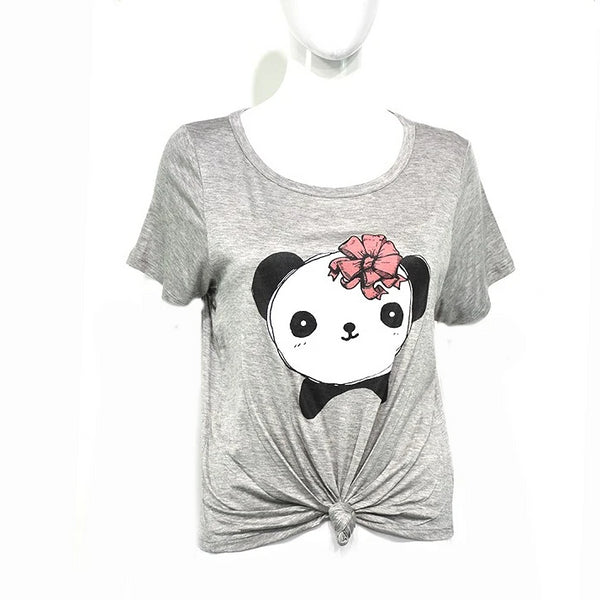 Playera Cr Mc C Nudo Panda