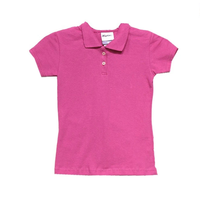 Playera Polo Lisa Niña