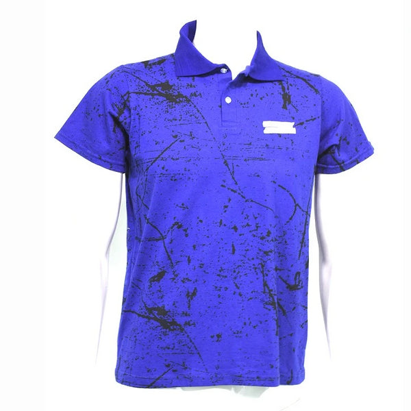 Playera Polo Estampada Caballero