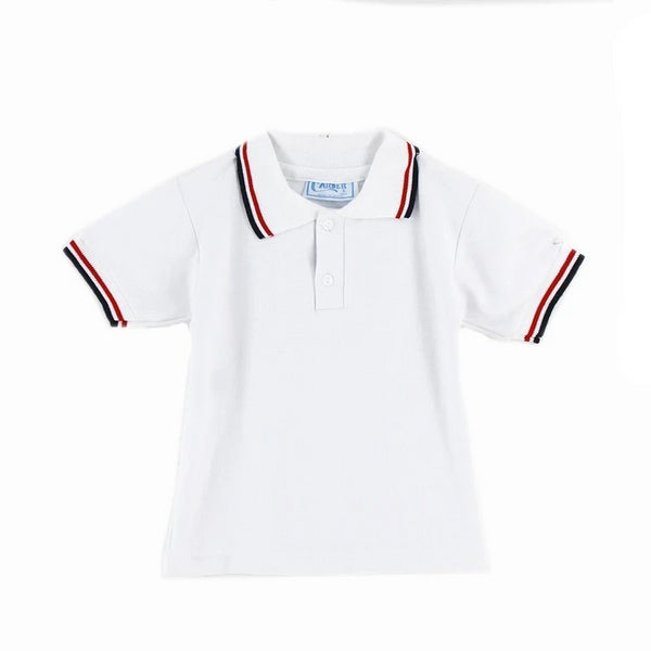 Playera Polo Ni#O Cuello Trico