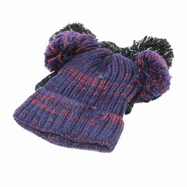 Gorro Doble Pompón Teens