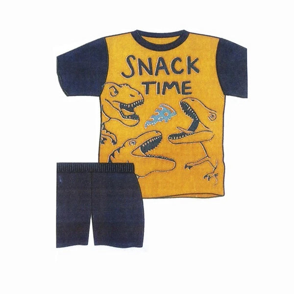 Conj Short Playera  M/C Snack