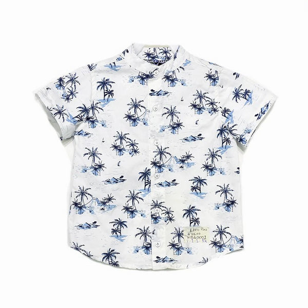 Camisa Estampada Casual Bebo