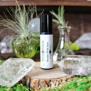 Breathe With Ease Aromatherapy Roll-On by Apothepurity Live Pure