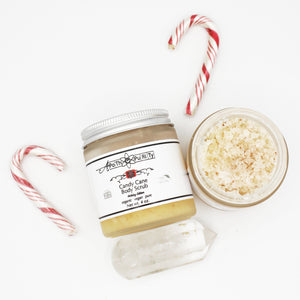 Candy Cane Body Scrub